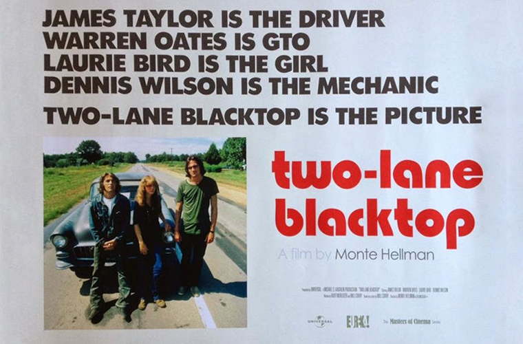 Two-Lane Blacktop UK Poster