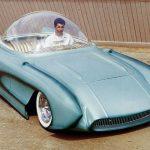 X-Sonic: 1956 Chevrolet Corvette, первый в мире лоурайдер