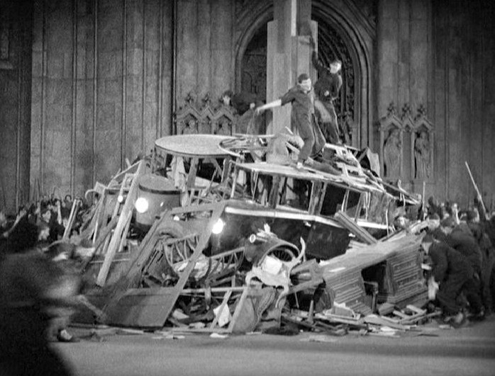 Кадр из фильма Metropolis (1927).