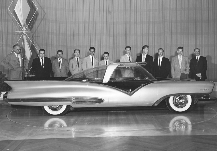 1955 Ford Mystere and those guys in suits again