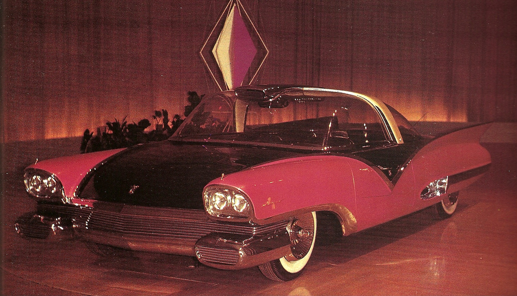 1955 Ford Mystere front quarter photo in color