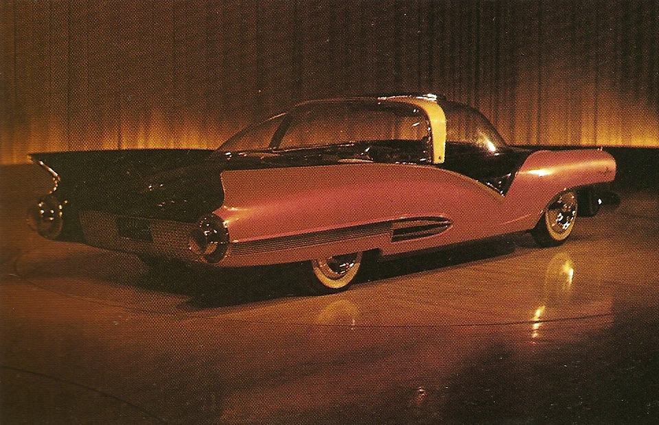 1955 Ford Mystere rear quarter photo in color