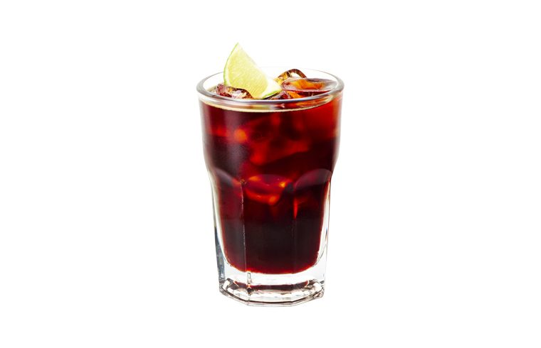 Black Cherry Cola cocktail thumbnail