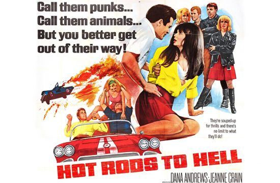 Hot Rods To Hell poster