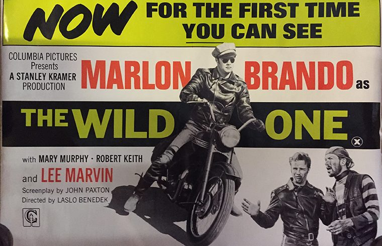 The Wild One UK poster