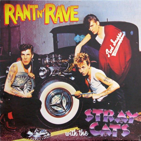 Model A Брайана на обложке альбома Rant'n'Rave
