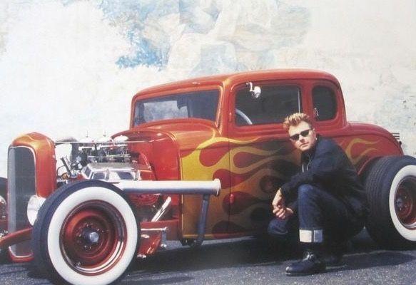 Brian Setzer & Switchblade 327 photo
