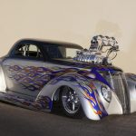 Blown Outta Proportion: 1937 Ford Coupe в стиле про мод