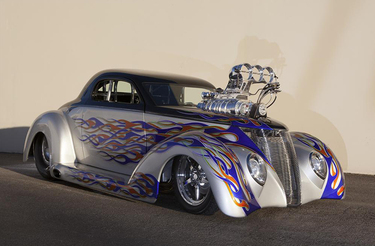 Blown Outta Proportion, Pro Mod 1937 Ford Coupe thumbnail photo
