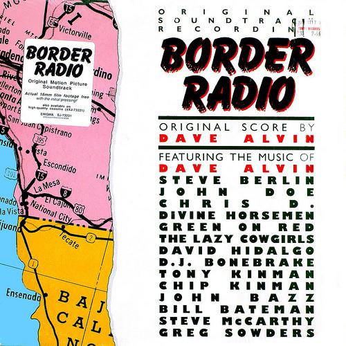 саундтрек к фильму Приграничное Радио, Border Radio Soundtrack