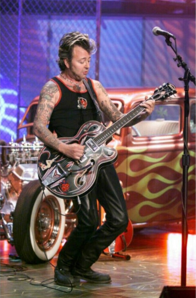 Brian Setzer, THE TONIGHT SHOW WITH JAY LENO, June 19th, 2001