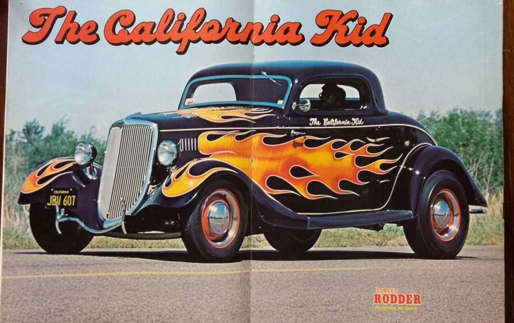 California Kid poster