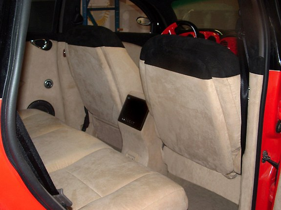 California Kroozer interior back