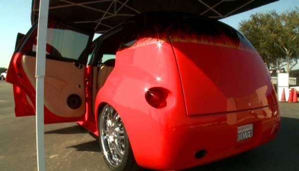 California Kroozer rear quarter, doors open