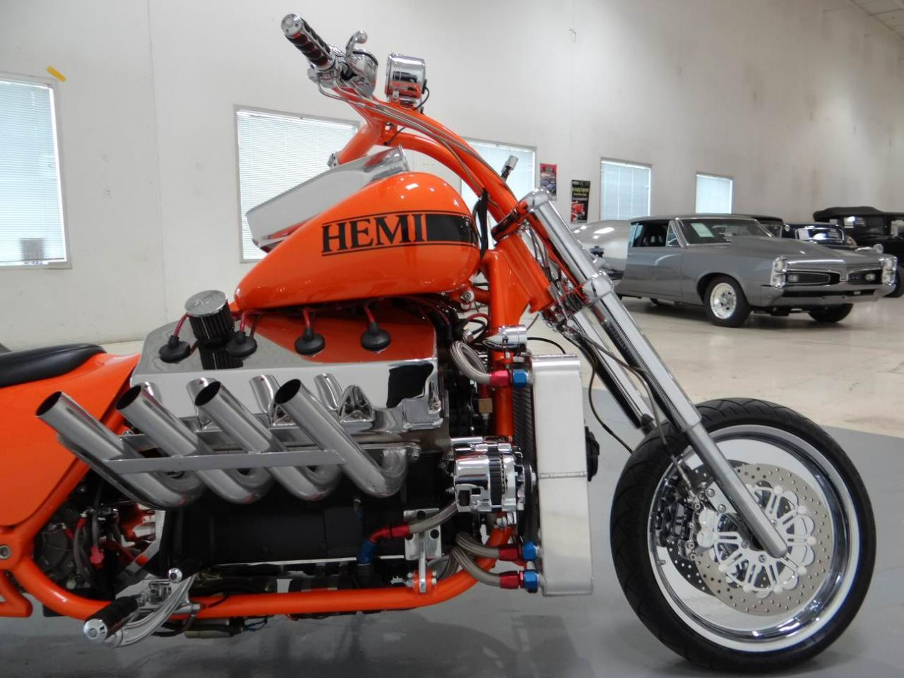 Custom Hemi 426 Chopper front half photo 24
