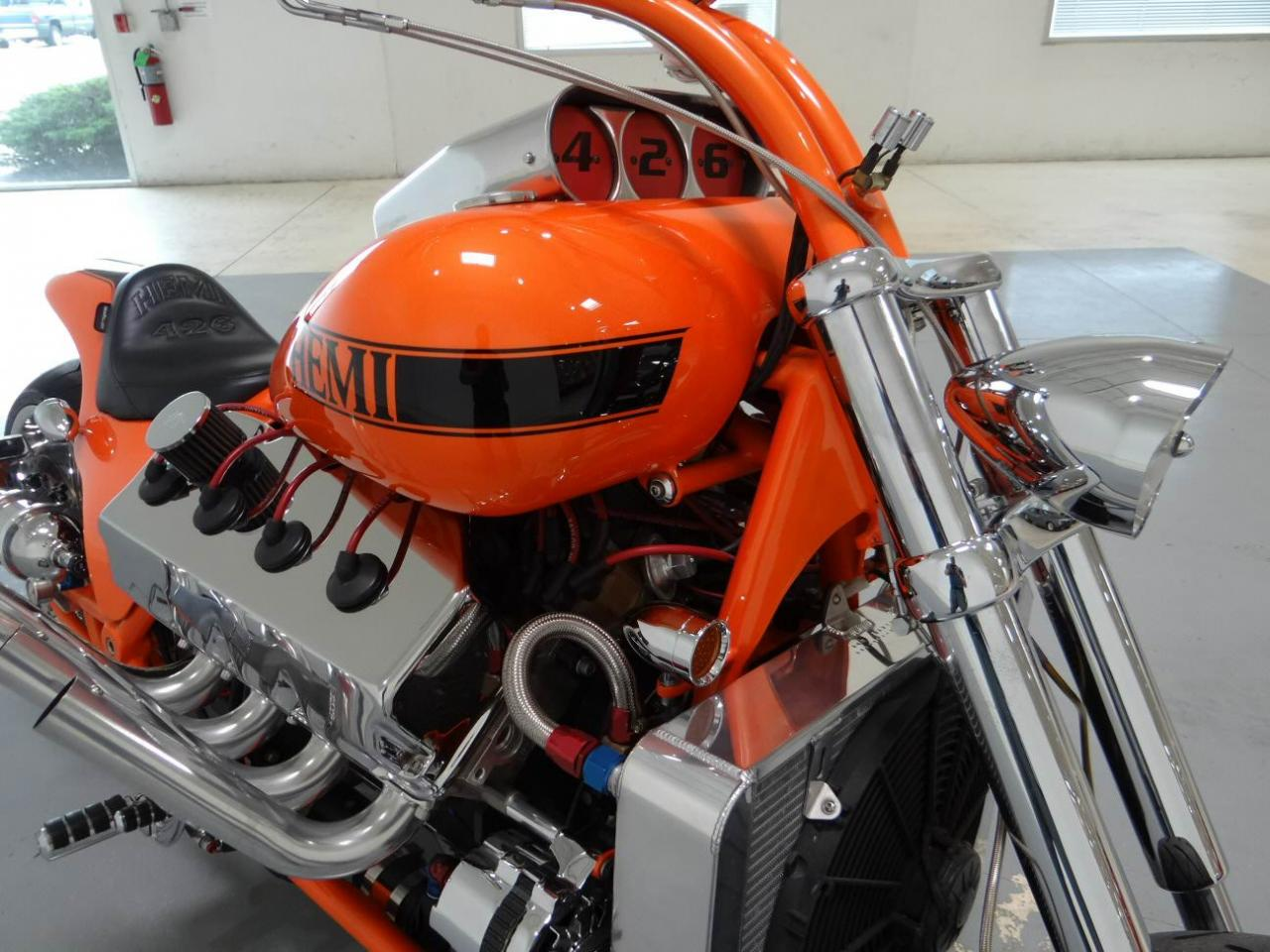 Custom Hemi 426 Chopper details photo 25