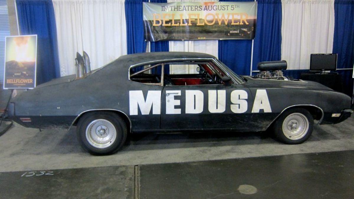 Medusa side view