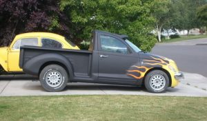 PT Cruiser custom truck side