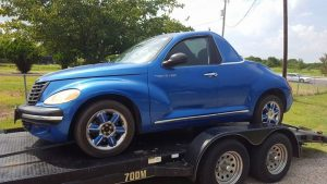 PT Cruiser custom coupe front quarter 1