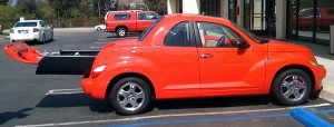 PT Cruiser coupe side 2