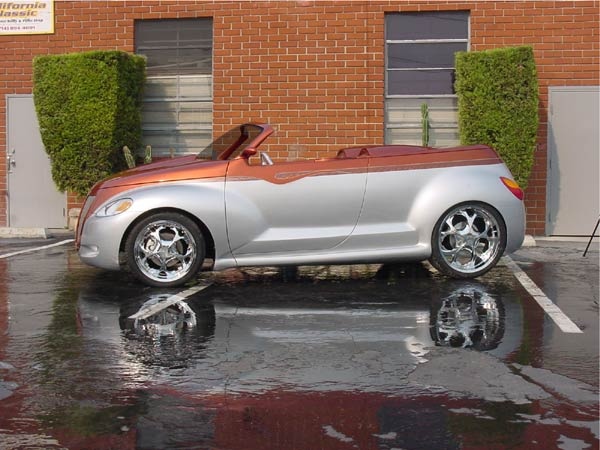 PT Cruiser custom PTeazer in a roadster form