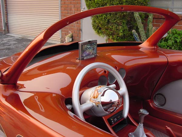 PT Cruiser custom PTeazer roadster interior shot 2