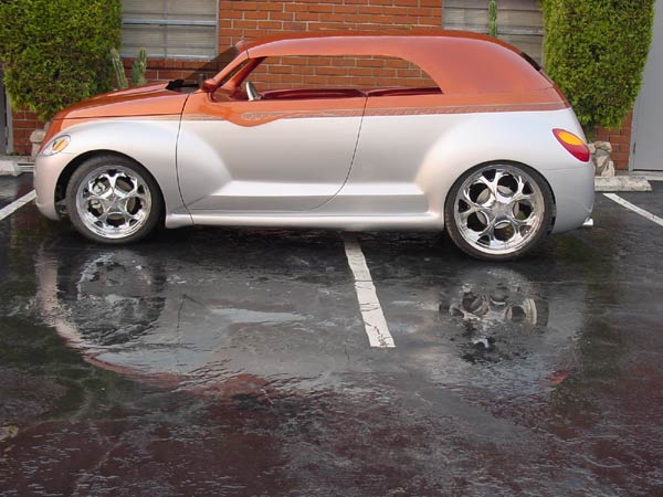 PT Cruiser custom PTeazer roadster in a phaeton form