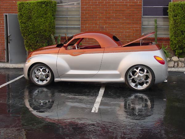 PT Cruiser custom PTeazer roadster in a pickup form