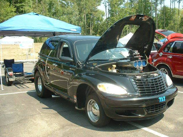 PT Cruiser with a V8 TAZ front quarter