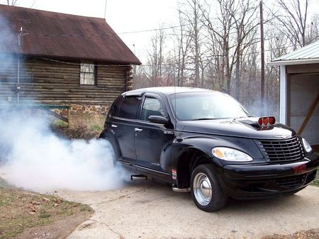 PT Cruiser with a V8 TAZ, early photo
