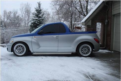 PT Cruiser with a V10 side