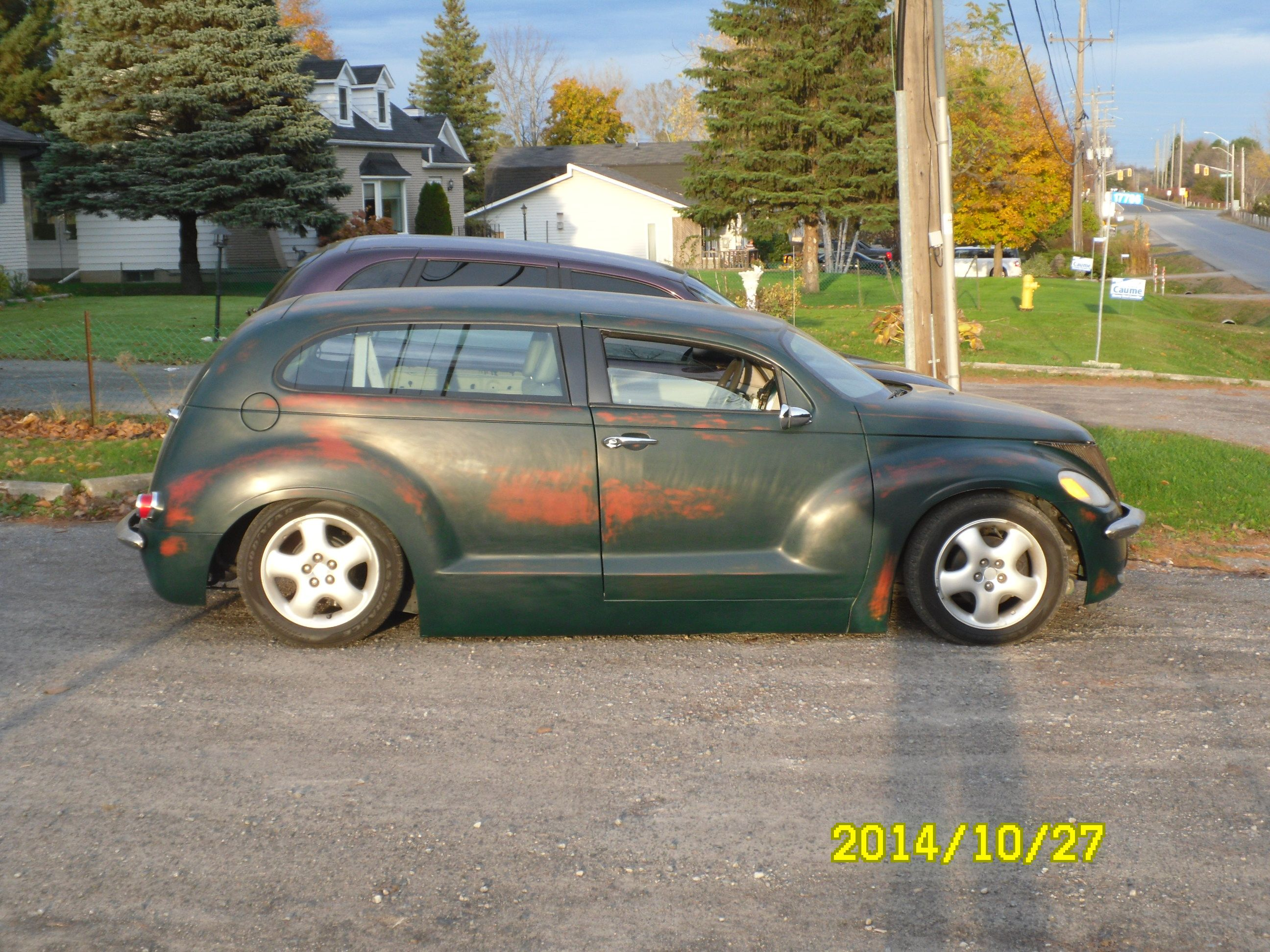 PT Cruiser unfinished heavy custom side