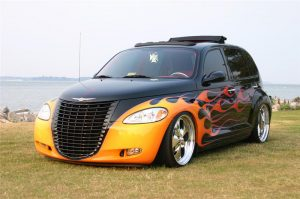 PT Cruiser custom by Pat Maxwell front