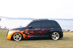 PT Cruiser custom by Pat Maxwell side