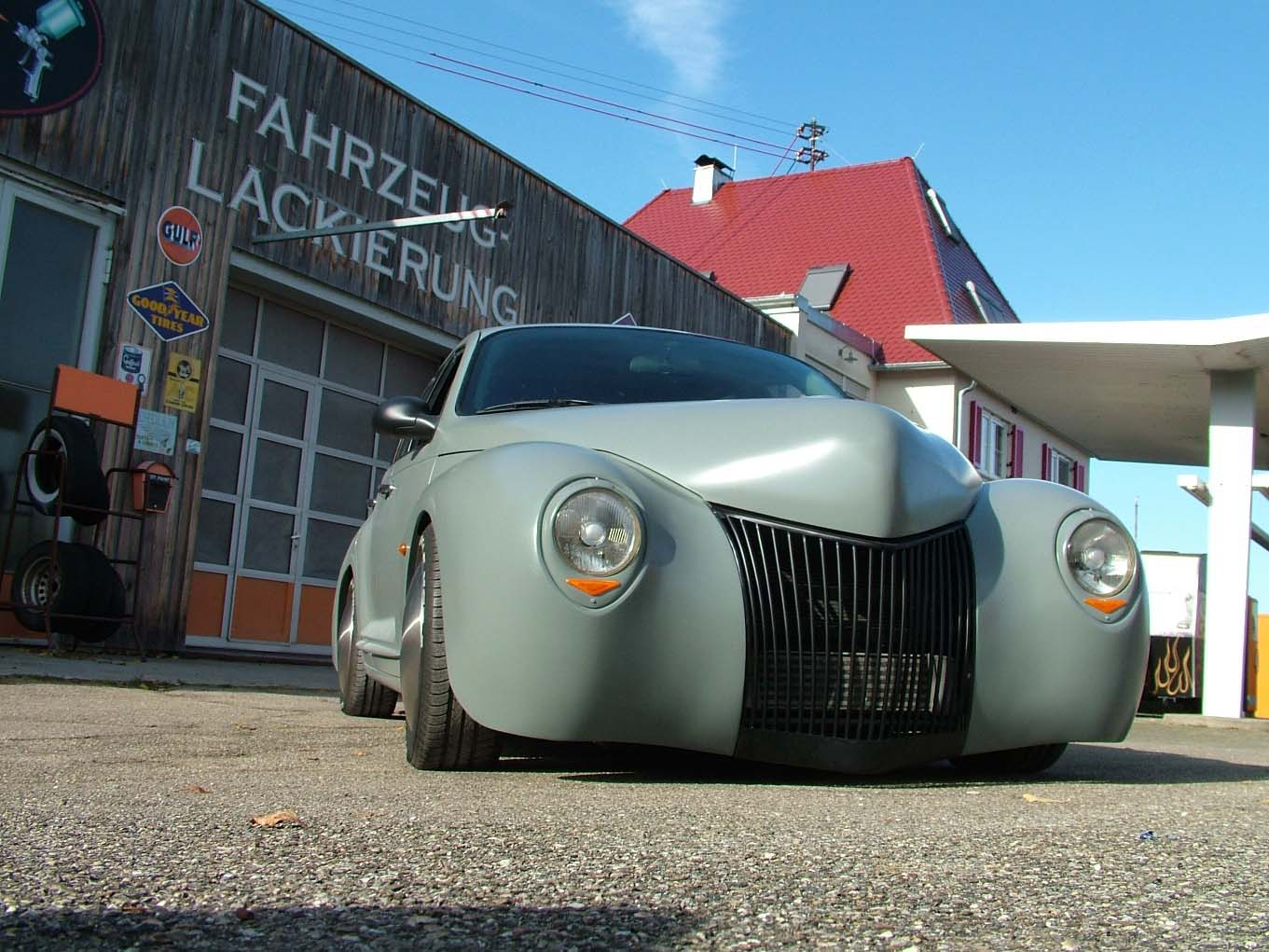 PT Cruiser radical custom front quarter