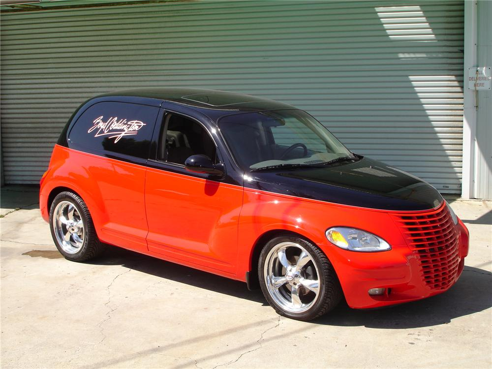 PT Cruiser custom by Boyd Coddington front quarter