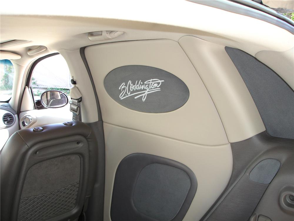 PT Cruiser custom by Boyd Coddington interior