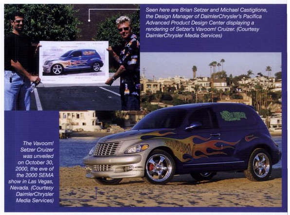 PT Cruiser custom Vavoom! for Brian Setzer some kind of scan 1