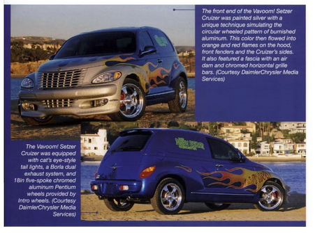 PT Cruiser custom Vavoom! for Brian Setzer some kind of scan 2