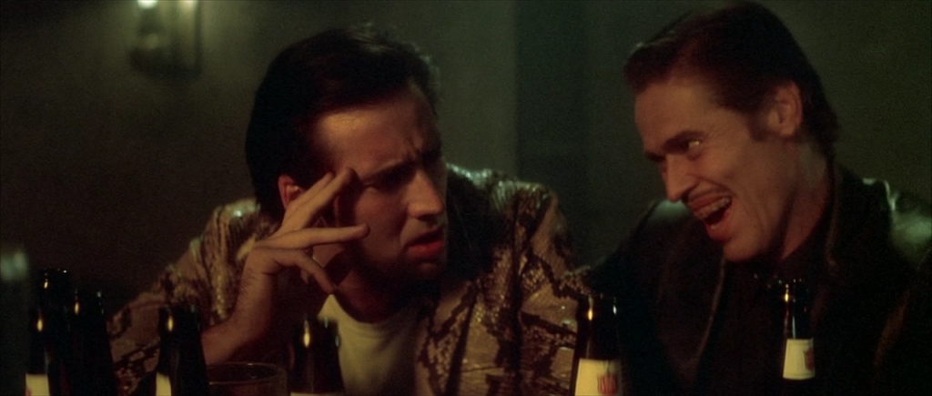 Wild At Heart Nicolas Cage and Willem Dafoe