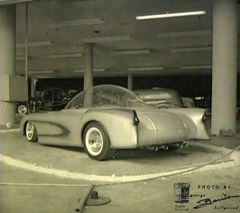 X-Sonic rear quarter, George Barris photo