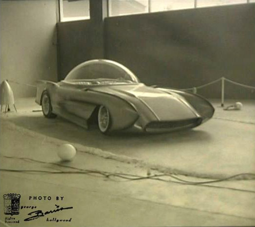 X-Sonic front quarter passenger side, George Barris photo