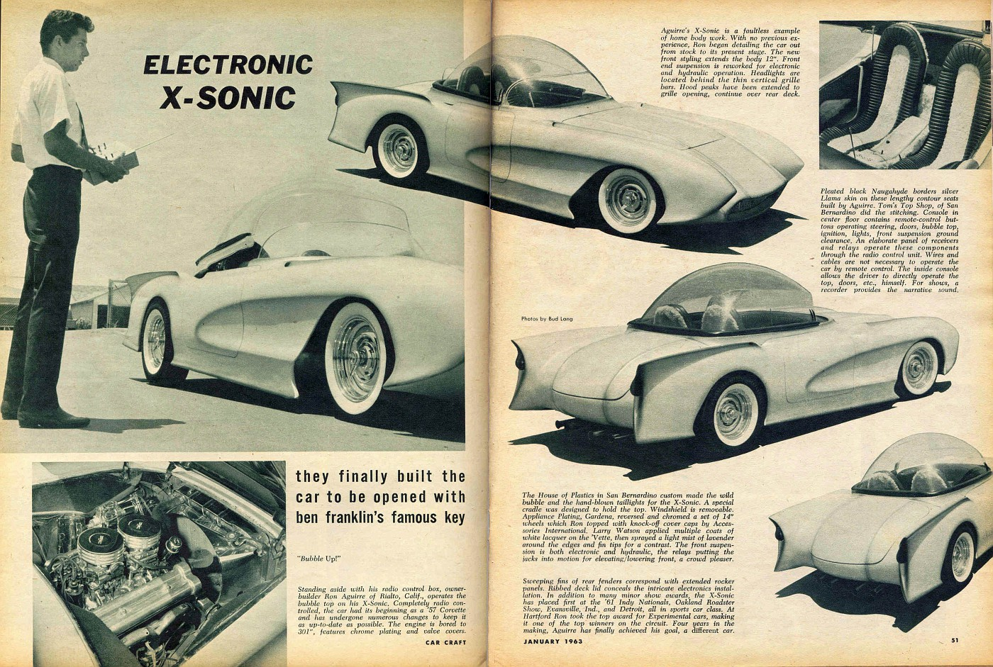 X-Sonic in Car Craft article