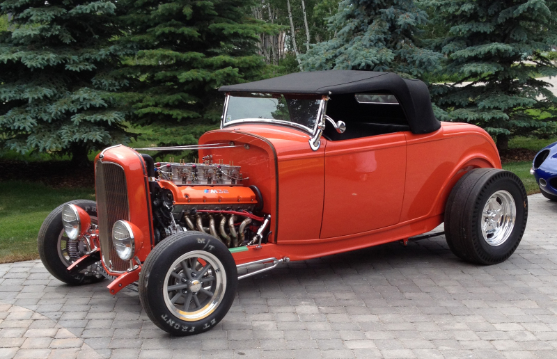 Hot-rod with BMW V12 from Canada 04