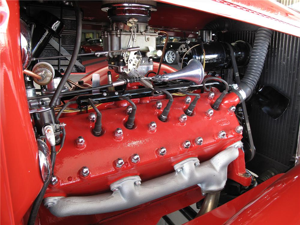 Hot Rod Lincoln V12 engine