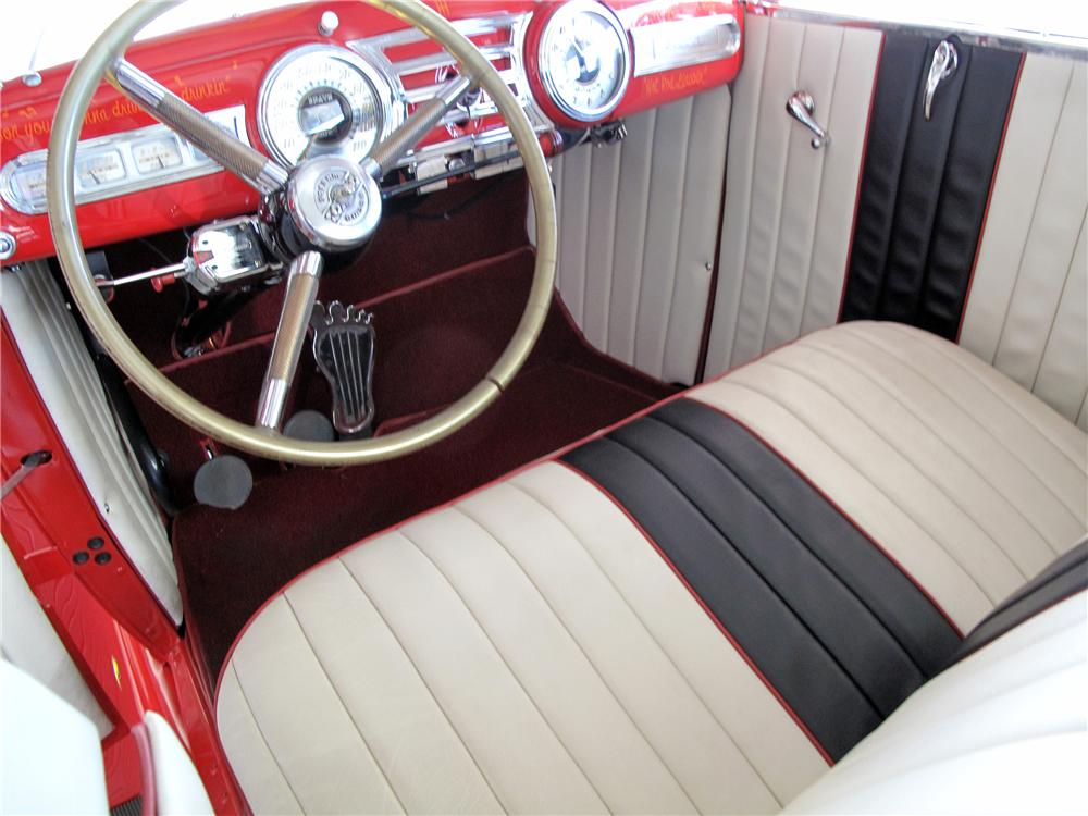 Hot Rod Lincoln interior