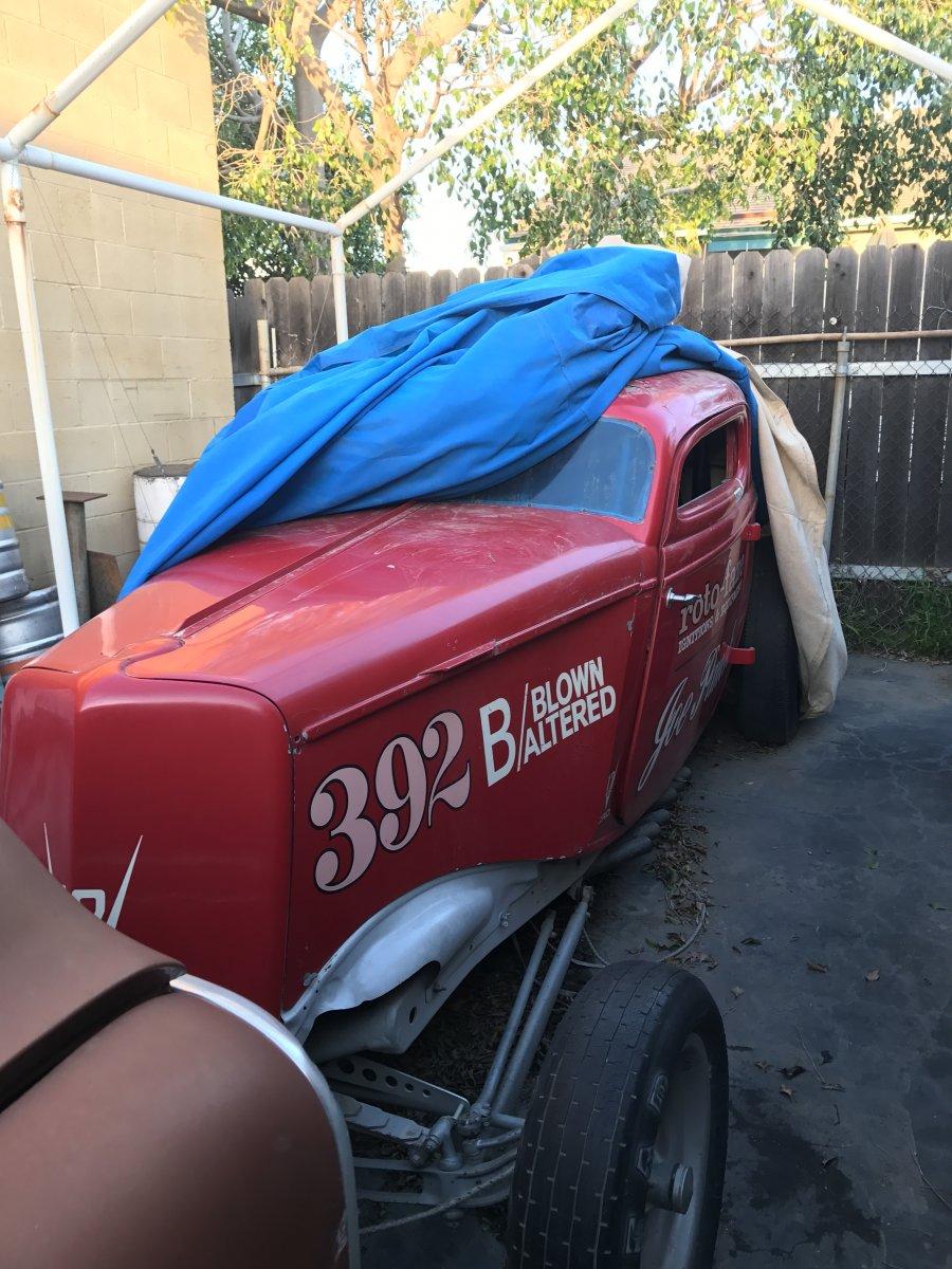 Caddy V12 powered Ford hiding under the rag