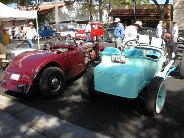 Dodge hot-rod with Cadillac V16 and Duesenberg hot-rod 03