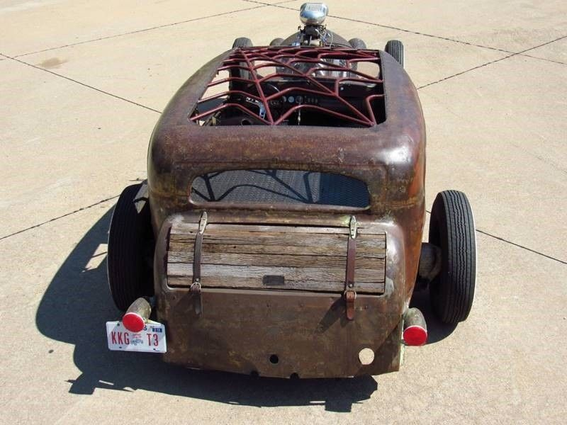 Oldsmobile rat-rod with Jaguar V12 06