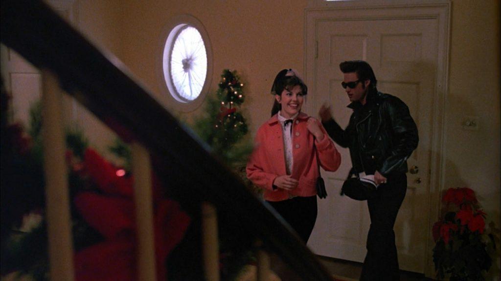 Kurt Russell as Elvis Presley in leather